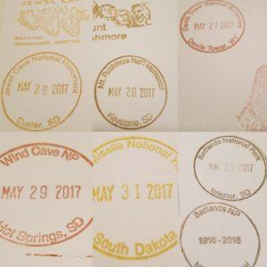 South Dakota Stamp Cramp